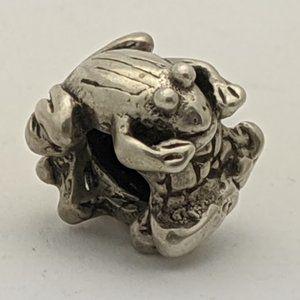 Jewelry - Frogs Silver Charm - Fits PANDORA Bracelet